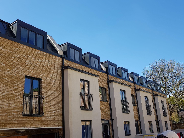 residential zinc dormers Fulham London
