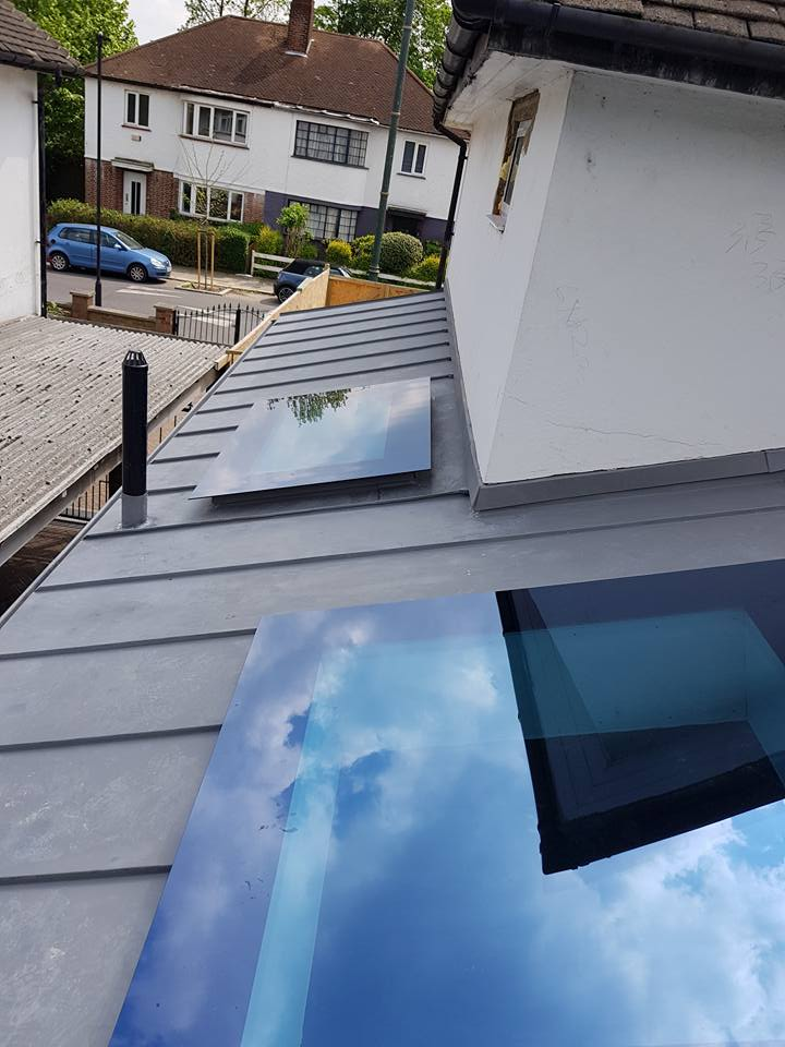 residential zinc roofing london