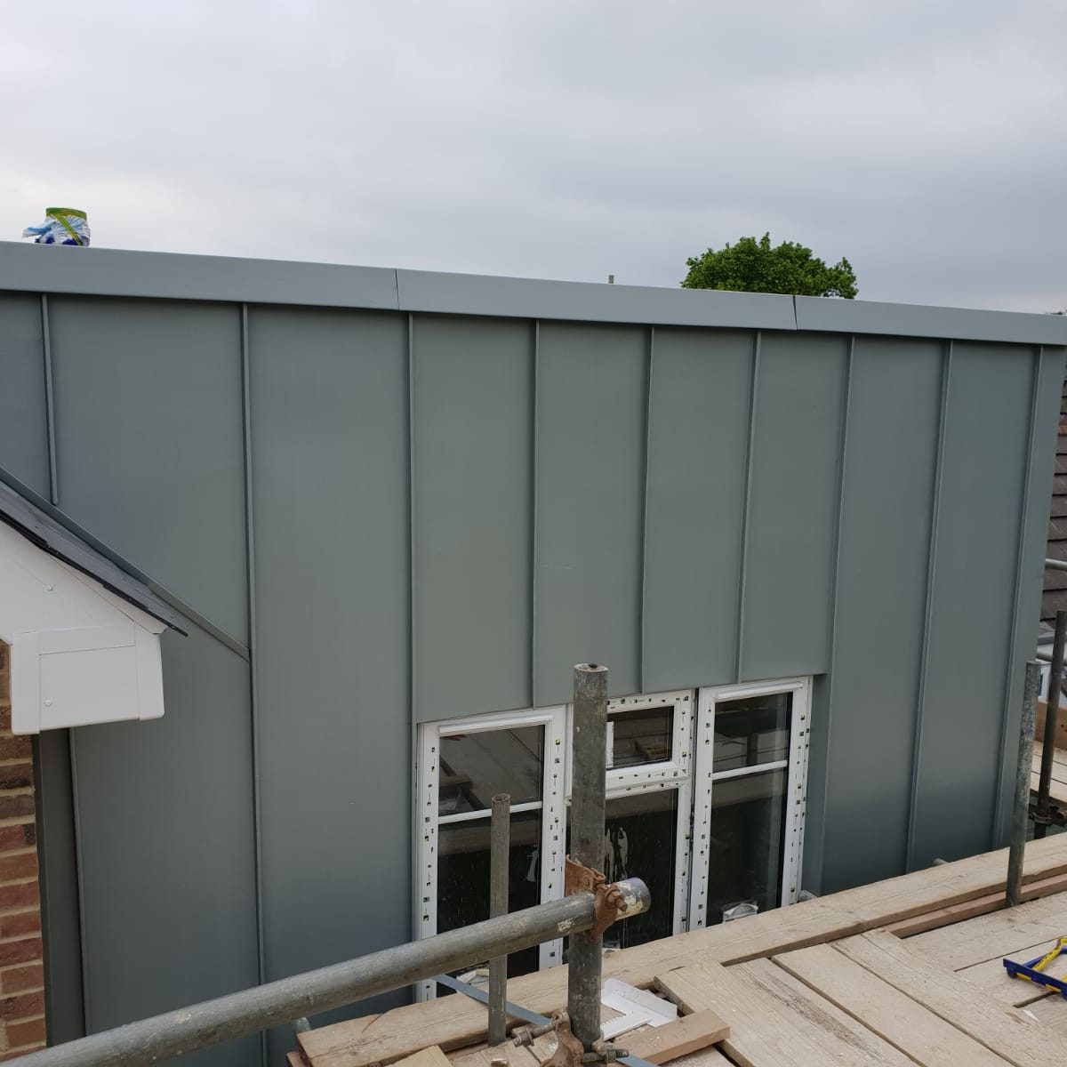 Zinc cladding and roofing Sutton