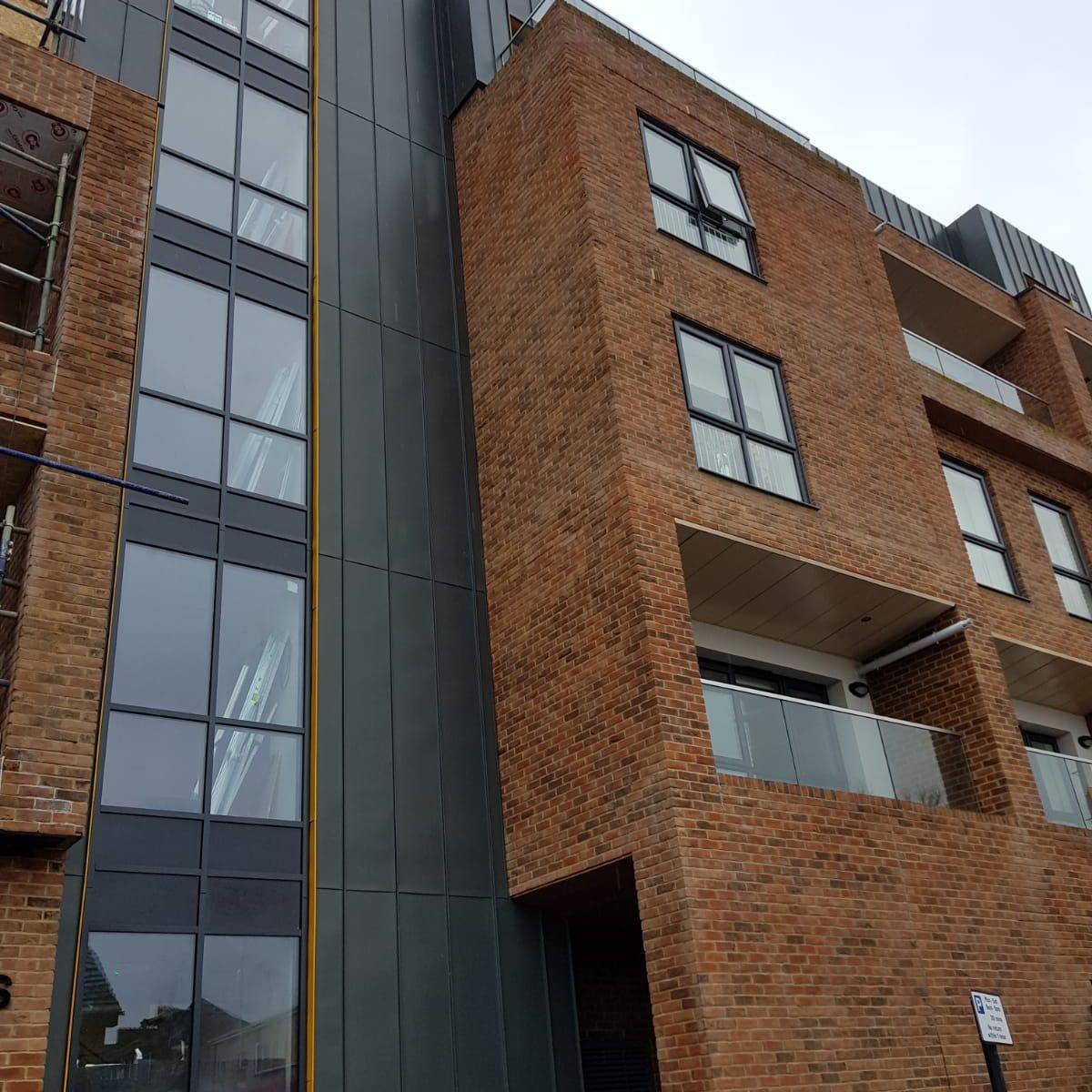 Zinc cladding in Waltham Forest East London