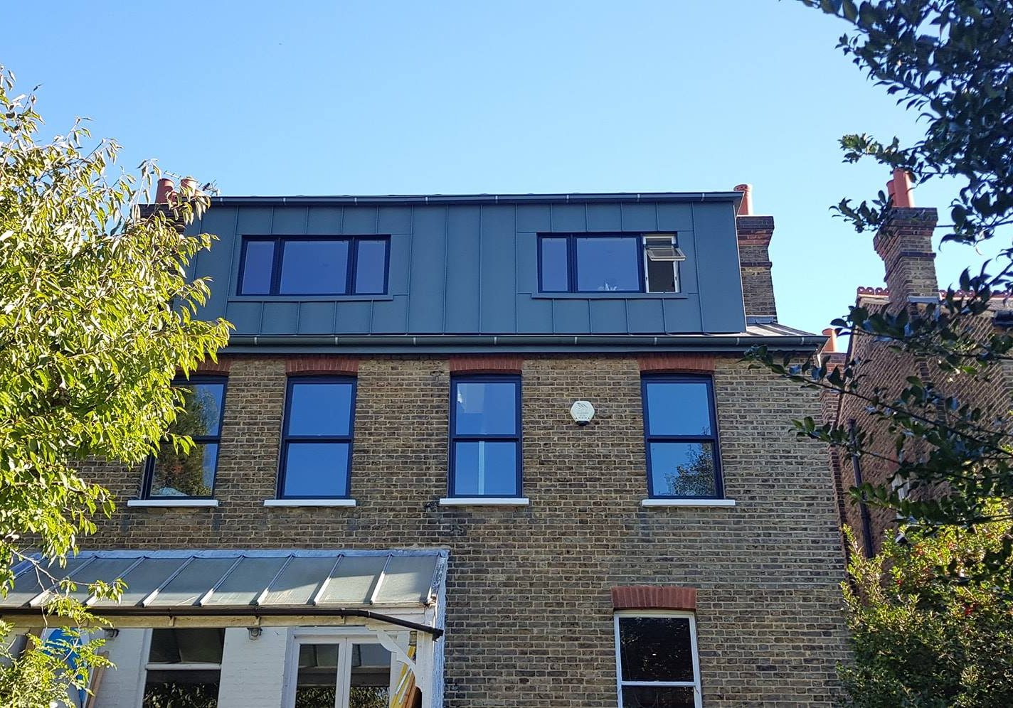 Zinc Roofing London