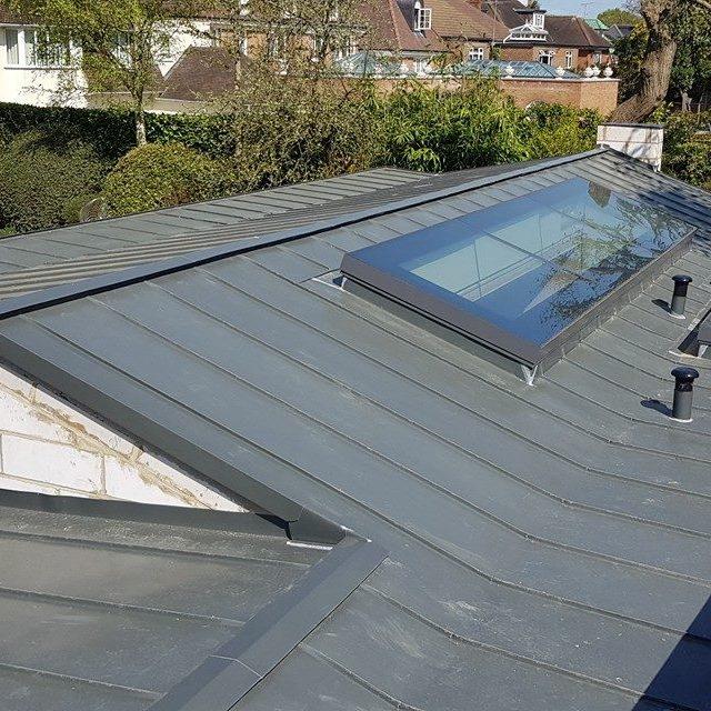 Zinc roofing in Roehampton Richmond