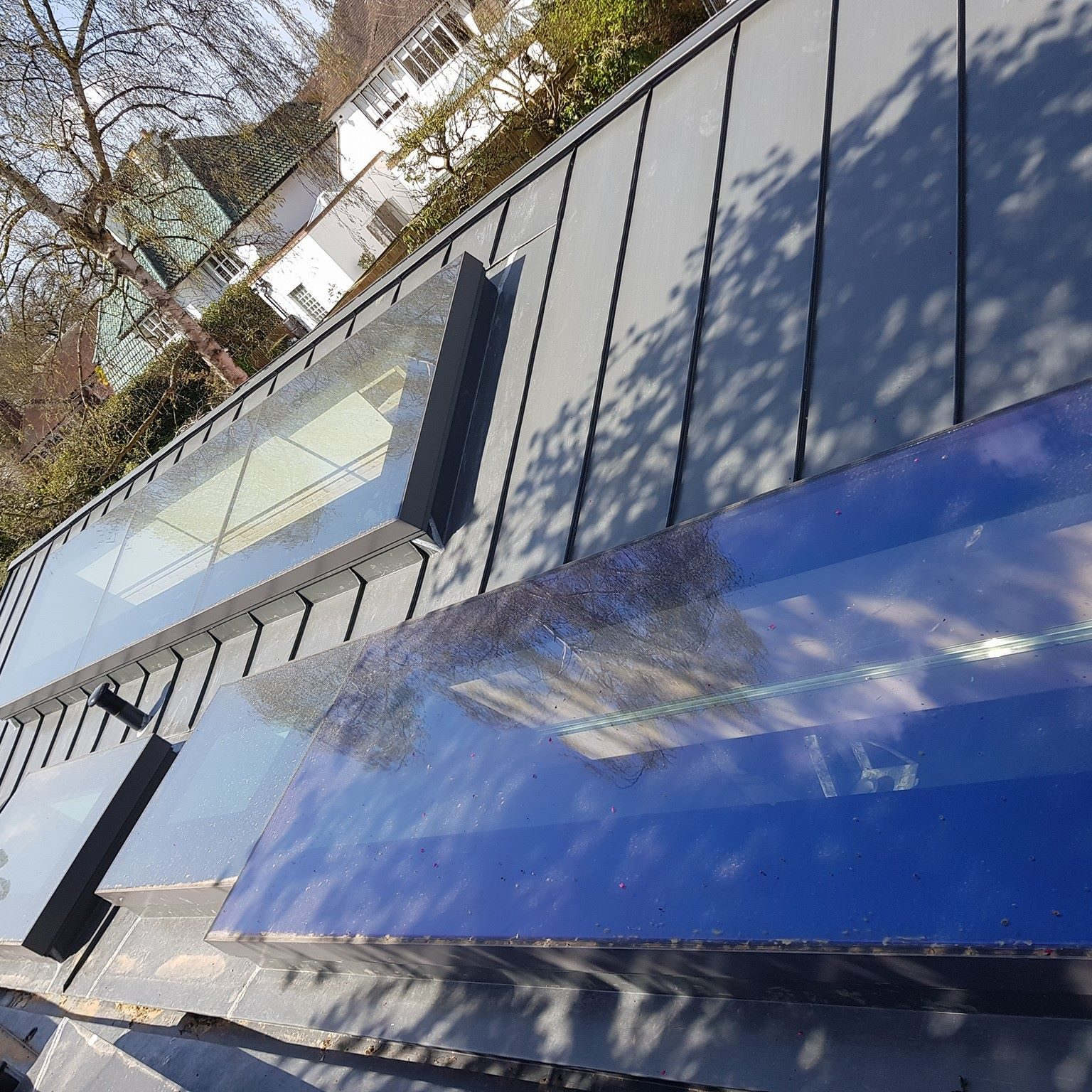 Zinc roofing in Richmond